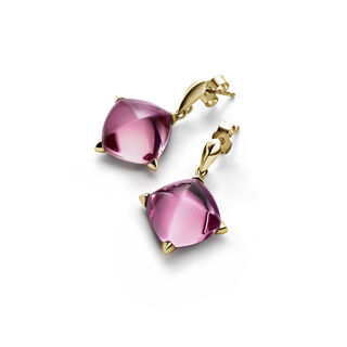 MÉDICIS EARRINGS  Pink mirror Image