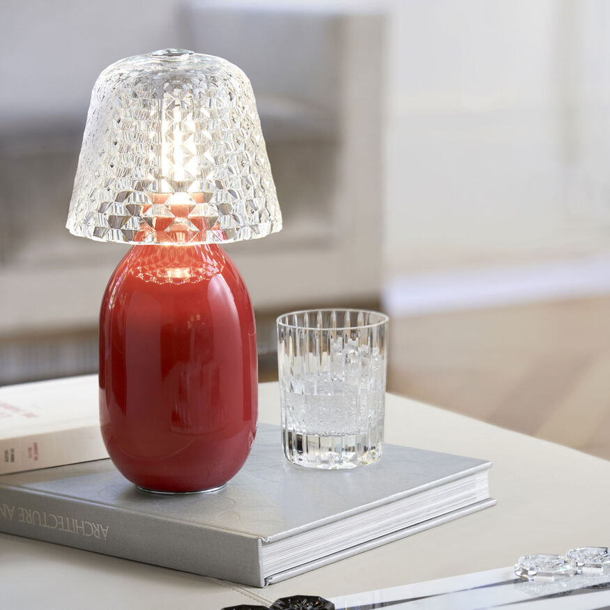 Lampada mobile Baby Candy Light, Rosso - 2