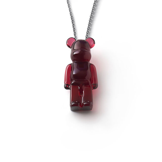 BACCARAT BE@RBRICK COLLANA, Rosso