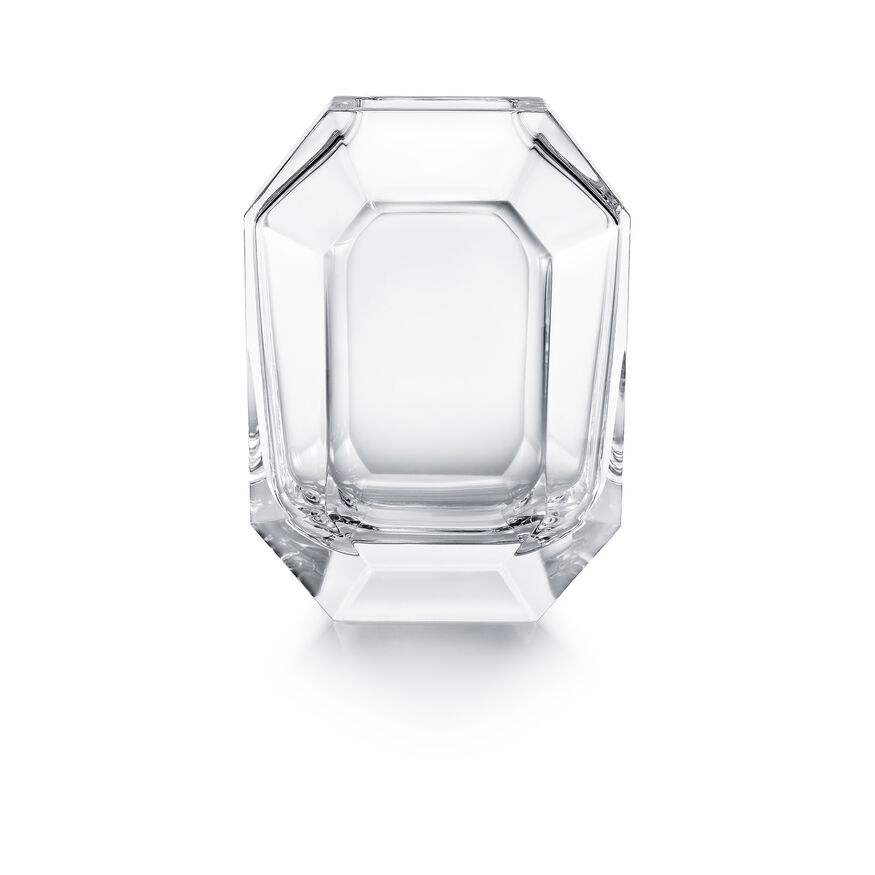 OCTOGONE VASE, Clear - 2