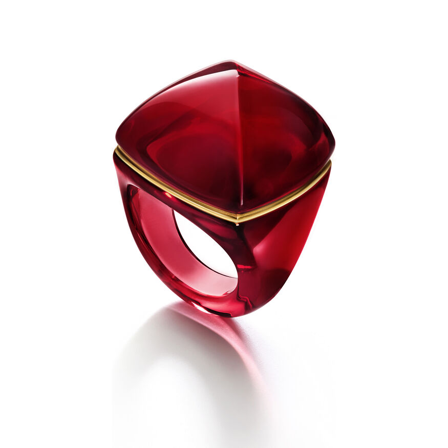 LA BAGUE POP  Red Image