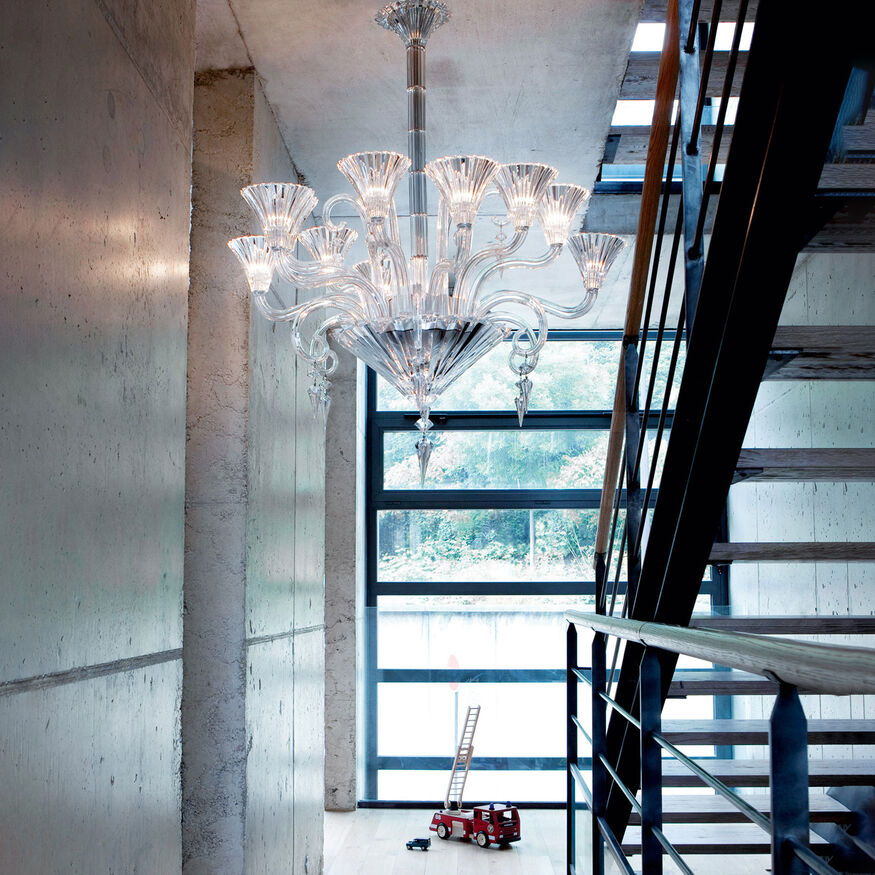MILLE NUITS CHANDELIER 6 TO 24 LIGHTS  Clear - 2