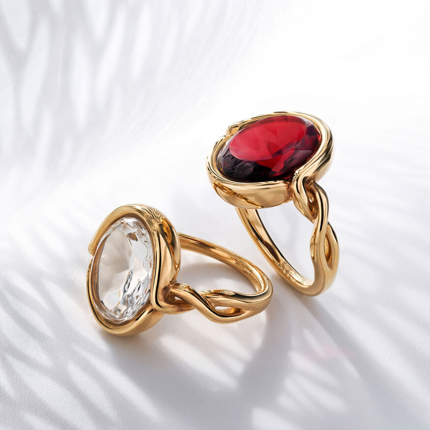 Croisé Ring, Red - 2