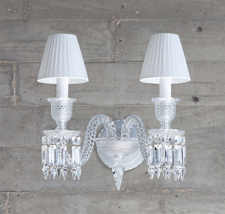 ZÉNITH WALL SCONCE, Clear - 2