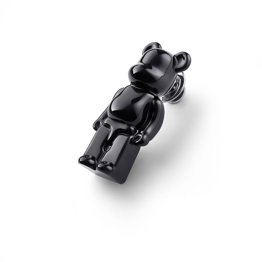 BACCARAT BE@RBRICK SPILLE, Nero
