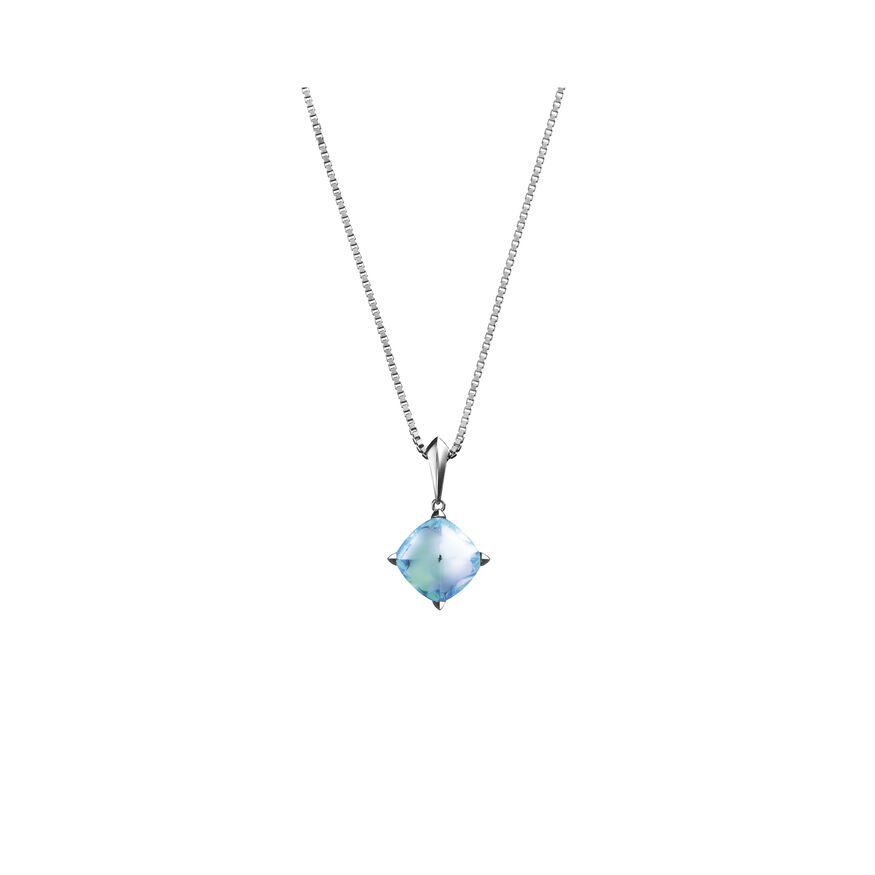 MÉDICIS NECKLACE, Aqua mirror - 2