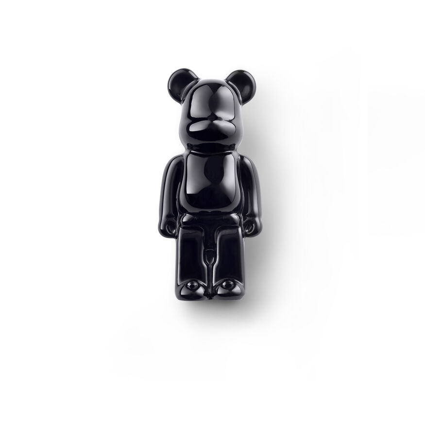 BACCARAT BE@RBRICK SPILLE, Nero - 2