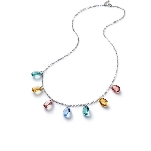 CRYSTAL DROPS OF COLOUR BACCARAT PAR MARIE-HÉLÈNE DE TAILLAC NECKLACE,