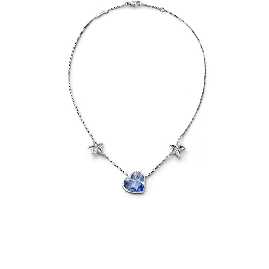 ÉTOILE DE MON COEUR NECKLACE, Light blue - 1