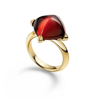 MÉDICIS RING  Red mirror