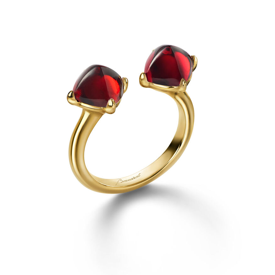 MINI MÉDICIS TOI&MOI RING, Red - 1