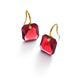 BACCARAT PAR MARIE-HÉLÈNE DE TAILLAC EARRINGS  Red Image