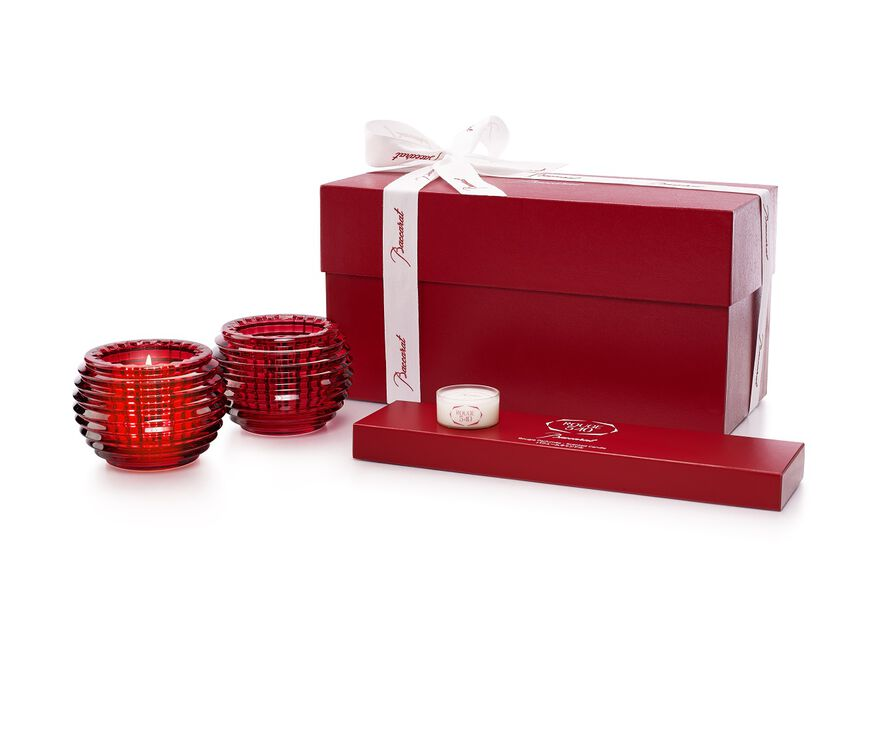ROUGE 540 CANDLESTICK SET,  - 2