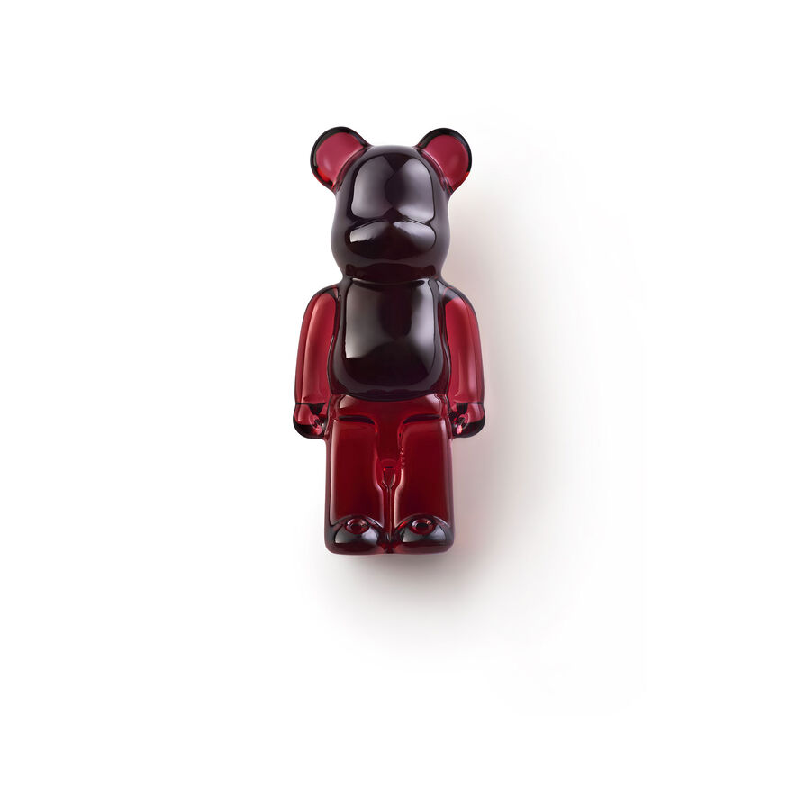 BACCARAT SPILLE BE@RBRICK, Rosso - 3