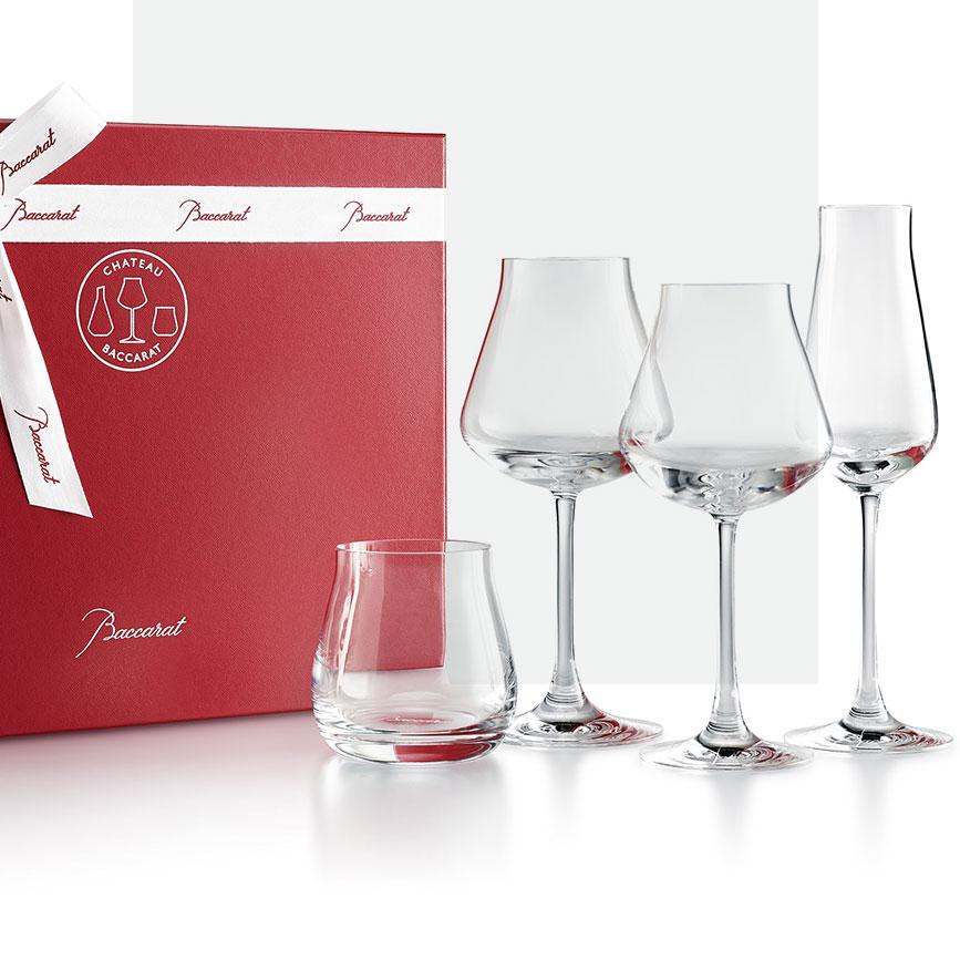 Château Baccarat degustation set of 4 glasses